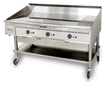 60x30 Miraclean Gas Griddle